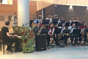 The Michael Brawley Big Band are delighted to be performing at Queen Elizabeth University Hospital once again