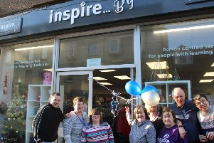 The Inspire...By charity shop opening in Stonehaven a year ago