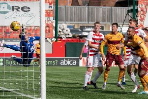 Motherwell won 3-1 at Hamilton on the sides' last meeting back on August 24 (Pic by Ian McFadyen)