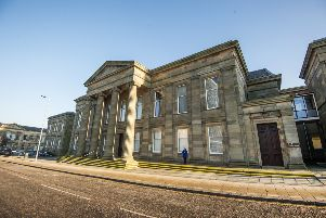 "26/01/17 . HAMILTON. Stock shot of Hamilton Sheriff Court. GV of Hamilton sheriff court. GV�""s , general view."