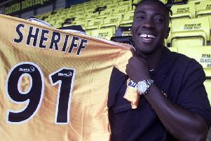 Cherif Toure Maman signed for Livingston in 2001 and wore 91 - the number he wore when he played basketball