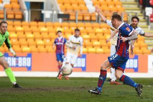 Inverness's Carl Tremarco scores the game's only goal. Picture: SNS/Paul Devlin