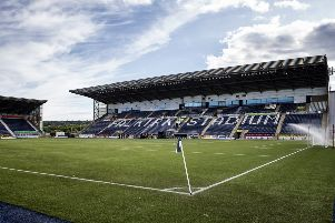 A general view of the Falkirk Stadium. Picture: SNS Group