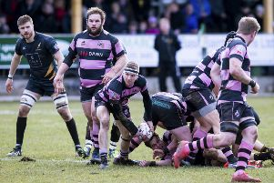 Currie Chieftains and Ayr, seen here in action in a BT Premiership semi-final clash earlier this month, have both applied. Picture: SNS Group