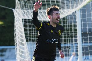 Ryan Hardie scored a sceamer against Dumbarton. Picture: SNS/Bruce White