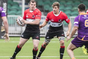 Glasgow Hawks, in action against Marr in the BT Premiership this season, have missed out on a place in the Super 6. Picture: SNS/SRU
