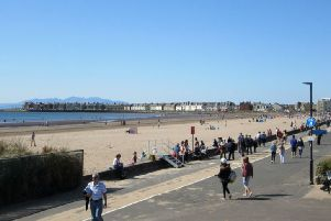 Thousands of teens flocked to Troon beach this Bank Holiday weekend. Picture: Wikimedia Commons/File pic