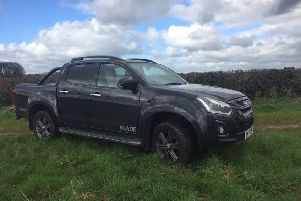 Blade is the highest specification in the Isuzu D-Max range.