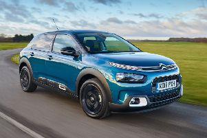 The new Citroen C4 Cactus hatchback comes with a choice of 1.2 litre three-cylinder turbo petrol engine, or a 1560cc 100hp four-cylinder turbo diesel.