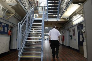 HMP Greenock is one of oldest prisons in Scotland dating from 1910.  Picture: SWNS