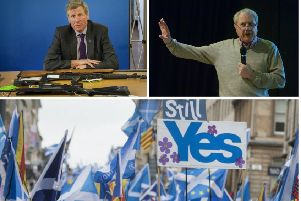 In a letter to The Scotsman, Jim Sillars (right) responds to Kenny MacAskill's (left) and says a second EU referendum is risky for the Scottish independence movement.