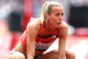 Lynsey Sharp is ready to make amends  in Berlin in the 800 metres. Picture: Getty.