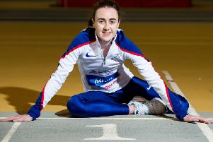 Laura Muir is favourite to win gold in the 1500m at the European Championships in Berlin on Sunday. Picture: Ross Parker/SNS
