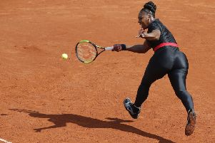 Serena Williams will no longer be allowed to wear her catsuit at the French Open. Picture: Michel Euler/AP
