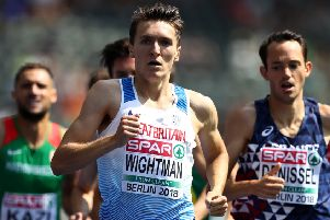 Jake Wightman will target Tom McKean's Scottish 800m record