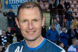 Dunfermline manager Allan Johnston. Pic: SNS