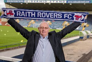 New Raith Rovers manager John McGlynn saw his side win 5-1. Pic: SNS