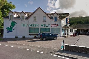 The Green Welly Stop Cafe Service Station and Shop Tyndrum