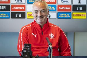 Ray McKinnon returns to Morton this weekend. Picture: SNS/Roddy Scott