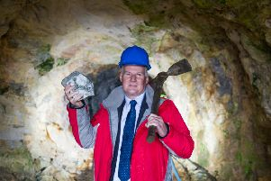 Richard Gray, 'chief executive of Scotgold Resources, which has secured six-figure funding to develop a Scottish gold mine. Picture: John Devlin