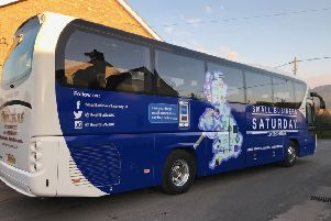 The Small Business Saturday tour bus will offer free mentoring services to local businesses, courtesy of accountancy firm Xero. Picture: contributed