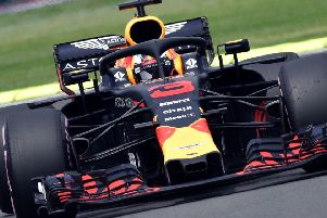 Red Bull's Australian driver Daniel Ricciardo will be on pole for the Mexico Grand Prix. Picture: AFP/Getty Images
