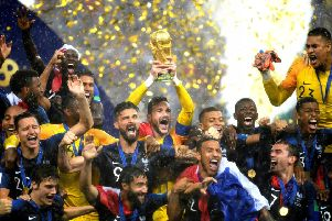 Economic growth in July was primarily driven by strong retail sales during the football World Cup,according to ONS figures. Picture: Shaun Botterill/Getty Images