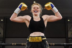 Scots boxer 'Hannah Rankin is fighting for a world title. Picture: Paul Devlin/SNS