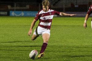 Lee Millar of Watsonians. Picture: Bruce White/SNS