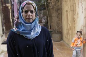 Diana Abbas is the only psychologist working at a children's centre in Nahr al-Bared camp for Palestinian refugees, in northern Lebanon.