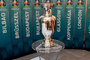 Twelve different nations will host Euro 2020. Picture: AFP/Getty