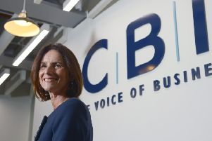 Deloitte's latest Power Up study included insight from CBI director-general Carolyn Fairbairn (pictured) and Deloitte's chief economist Ian Stewart. Picture: Anthony Devlin