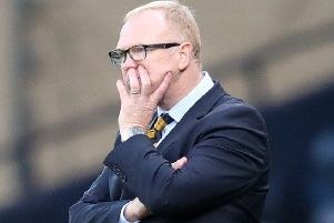 Scotland manager Alex McLeish. Picture: PA