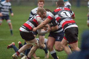 Heriots vs Stirling County Pic: Ian Georgeson