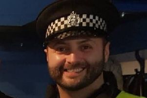 Detectives have made an urgent appeal about the final movements of the police officer who was found dead in a burn. Picture: Police Scotland