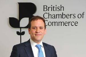 BCC director general Adam Marshall said the UK government should focus on providing clarity on conditions in the short term. Picture: Craig Hibbert.