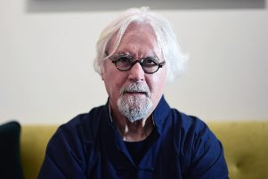 Sir Billy Connolly says his life is nearing the end as he spoke about his life with Parkinson's disease. Picture: John Devlin
