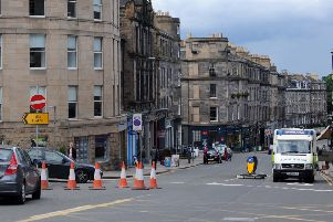 The gas network upgrade will cause months of misery for motorists and local residents. Picture: Kate Chandler