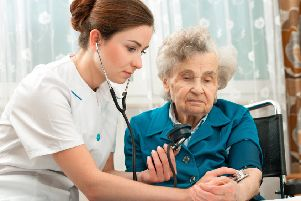 Demand for temporary staff was strongest in the nursing, medical and care worker sector, finds the report. Contributed: Getty Images/iStockphoto