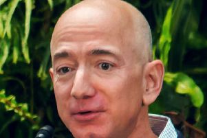 Amazon boss Jeff Bezos.