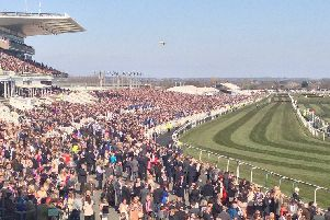 The Grand National held at Aintree Racecourse in Liverpool