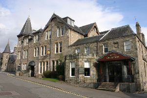 The hotel is situated off the main street of Pitlochry and has 72 bedrooms. Picture: Contributed