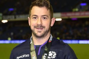 Greig Laidlaw is regarded highly at Clermont Auvergne. Picture: SNS/SRU.