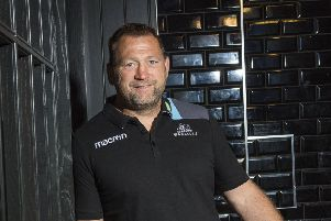 Jon Humphreys aims to see Glasgow's Plan A executed to perfection before he leaves. Photograph: Gary Hutchison/SNS/SRU.