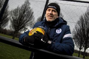 Queen of the South manager Gary Naysmith says his side must play as well as they did in defeating Ross County or they will have 'no chance' against Dundee. Picture: SNS.