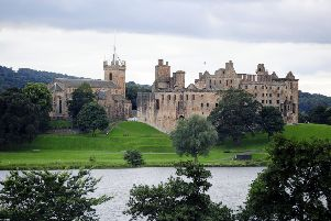 Linlithgow Palace - one of 19 locations on a new interactive map based on the Mary Queen of Scots film. Picture Michael Gillen