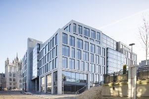 Marischal Square is one of the city's major developments. Picture: Contributed