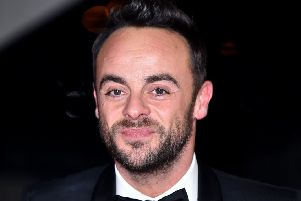 Ant McPartlin will return to work on Friday for this year's Britain's Got Talent auditions. Picture: Matt Crossick/PA Wire