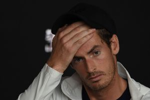 Andy Murray is still to make a decision on further surgery but won't play any of February's tournaments. Picture: Getty Images