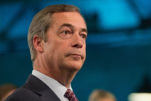 Former Ukip leader Nigel Farage. Picture: Aaron Chown/PA Wire